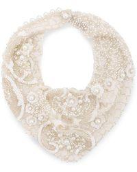 Mignonne Gavigan - Pearl Scarf Necklace - Lyst