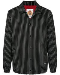 Education From Young Machines - Pinstripe Shirt Jacket - Lyst