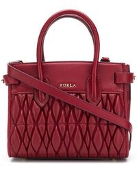 Furla - Pin Quilted Tote - Lyst