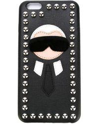 Fendi - 'karlito' Iphone 6 Plus Case - Lyst