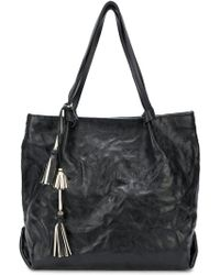 Henry Beguelin - Textured Tassel Tote - Lyst