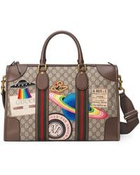 Gucci - Courrier Soft Gg Supreme Duffle Bag - Lyst