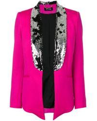 Styland - Sequin Embellished Blazer - Lyst