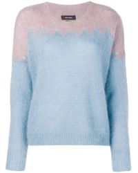 Isabel Marant - Wave Cut Knit Sweater - Lyst