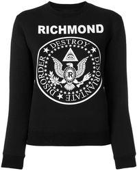 John Richmond - Logo Sweatshirt - Lyst