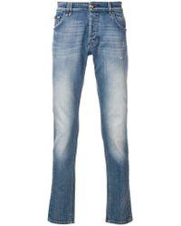 Philipp Plein - Skinny-Jeans mit ausgeblichenem Effekt - Lyst
