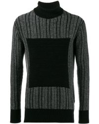 Curieux - Ripple Turtleneck Jumper - Lyst