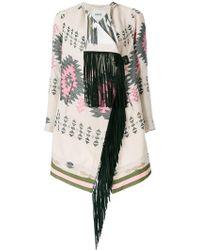 Bazar Deluxe - Aztec Print Coat - Lyst
