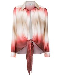 Amir Slama - Gradient Silk Shirt - Lyst