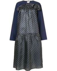 Sofie D'Hoore - Gathered Polka Dot Dress - Lyst