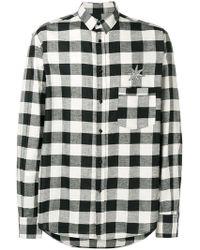 Christian Pellizzari - Checked Shirt - Lyst