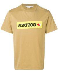 Golden Goose Deluxe Brand - Golden Upside Down T-shirt - Lyst