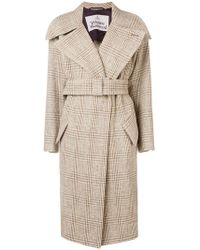 Vivienne Westwood - Checkered Trench Coat - Lyst