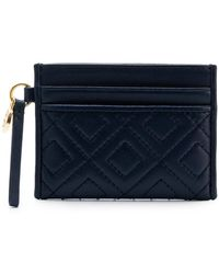 Tory Burch - Quilted Card Holder - Lyst