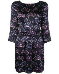 L'Autre Chose - Tie Waist Printed Dress - Lyst