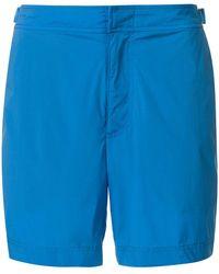 Orlebar Brown - Shorts de baño lisos - Lyst