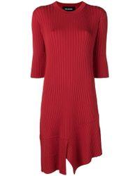 Neil Barrett - Midi Knit Dress - Lyst