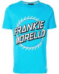 Frankie Morello   Short Sleeved Logo T-shirt   Lyst