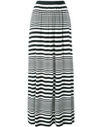 I'm Isola Marras - Striped Maxi Skirt - Lyst