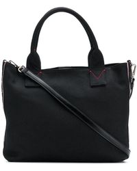 Pinko - Logo Embroidered Tote Bag - Lyst