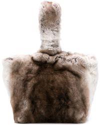 Max Mara - Fur Tote Bag - Lyst