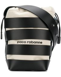 Paco Rabanne - Striped Bucket Tote - Lyst