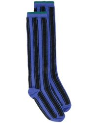 Haider Ackermann - Striped Socks - Lyst
