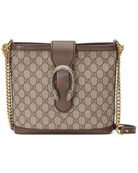 168817982500 Gucci Medium Dionysus Suede Shoulder Bag - in Red - Lyst