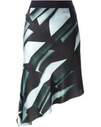 Ann Demeulemeester - Asymmetric Skirt - Lyst