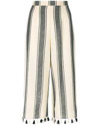 Dodo Bar Or - Striped Tassel Trousers - Lyst