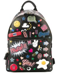 Anya Hindmarch | 'all Over Stickers' Backpack | Lyst