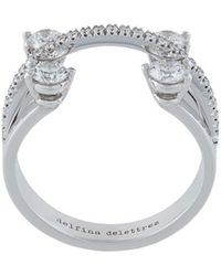 Delfina Delettrez - Linked Dots Ring - Lyst