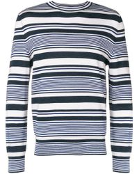 A.P.C. - Multi-stripe Sweater - Lyst
