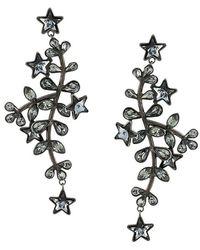 DSquared² - Embellished Drop Earrings - Lyst