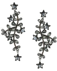 DSquared² - Embellished Drop Earrings - Lyst