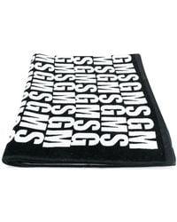 MSGM - Printed Beach Towel - Lyst