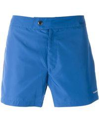 Jil Sander - Lateral Striped Swim Shorts - Lyst