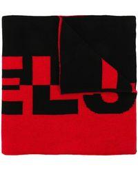 Belstaff Logo Knit Scarf - Black