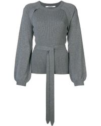 Chalayan - Puff Sleeve Ribbed Jumper - Lyst