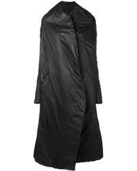 Masnada - Padded Oversized Coat - Lyst