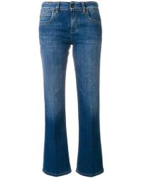 Notify - Cropped Faded Jeans - Lyst