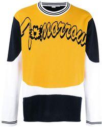 Stella McCartney - 'tomorrow' Slogan Sweatshirt - Lyst