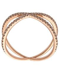 Eva Fehren - Gold Fine Shorty Ring - Lyst