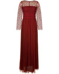 Copurs - Fine Lace Sheer Gown - Lyst