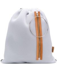 MM6 by Maison Martin Margiela - Mesh Drawstring Backpack - Lyst