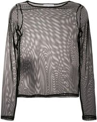 Patrizia Pepe - Transparent Top - Lyst