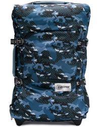 Eastpak - Camouflage Print Travel Suitcase - Lyst