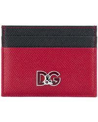 Dolce & Gabbana - Logo Bi-colour Cardholder - Lyst