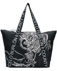 Marcelo Burlon - Asier Shopping Bag - Lyst