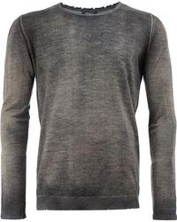 Avant Toi - Faded Fine Knit Jumper - Lyst